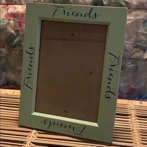 """Friends"" 5x7 frame"
